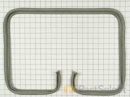 oven door seal part number wpy702338