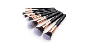 makeup brushes set anjou 8pcs synthetic makeup brushes is on for 8 49 at amazon