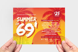 Summer Party Flyers Free Summer Party Flyer Templates Psd Ai Vector Brandpacks