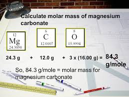 Chapter 10.1 and 10.2 Calculating atoms. Molar Mass Is the same as ...