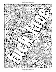 Coloring Pages With Words Fun Time