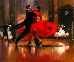 dance series ii painting flamenco dancer dance series ii art painting