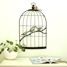 birdcage mirror 5 of 8 new er barrel nesting garden birdcage mirror erflies and wall decal home bargains