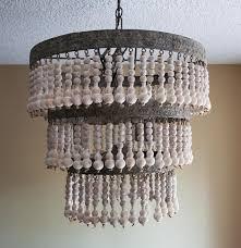 black wood beaded chandelier designs