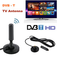 <b>30dBi Indoor</b> Gain <b>Digital DVB</b>-<b>T</b>/<b>FM</b> Free View Aerial Antenna ...