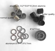 skateboard bearing spacer. 8mm spacer axle nut washer skateboard skating skate bearing 8*22*7mm
