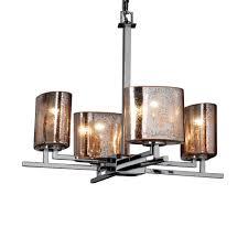 aero 4 light chandelier