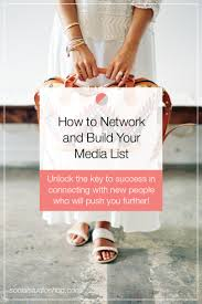 how to network build your media list social studio shop if you re a boss babe looking to grow her business but not sure