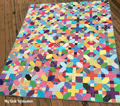 Scrappy Quilt Patterns Amazing Scrappy X Plus Quilt Tutorial FaveQuilts