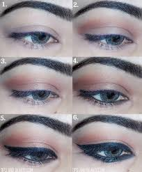 how to do cat style eye makeup look tutorial
