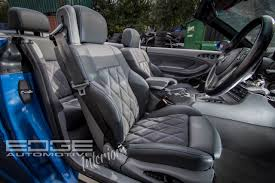 bmw m3 e46 leather alcantara re trim drivers side
