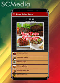 Rendang adalah salah satu menu masakan khas indonesia tepatnya didaerah padang yang memiliki rasa nikmat dan lezat. Android Icin Resep Masakan Daging Sapi Apk Yi Indir