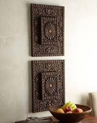 asian wall decor carved wood wall art