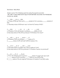 law of conservation mass worksheet example problems worksheets for all chemistry equations practice balancing chemical la