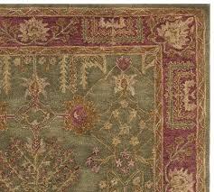 tree of life persian rug swatch multi