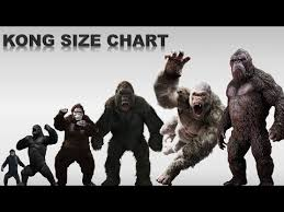 King Kong Sizes And Movie Apes Youtube