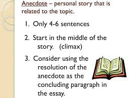examples of anecdotes in essays cover letter anecdotal essay  writing anecdotes and real life examples english works examples of anecdotes in essays