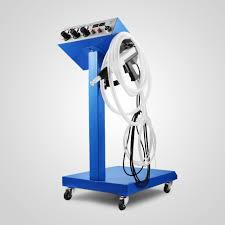 new electrostatic spray powder coating system machine spraying paint system powder coating equipment in woodworking machinery parts from tools on