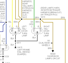 tail light wiring diagram siemreaprestaurant me led trailer lights wiring instructions 1997 chevrolet suburban tail light wiring schematic with
