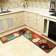 kitchen rugs. Beautiful Rugs Seamersey Home And Kitchen Rugs 2 Pieces 4 Size Decorative NonSlip Rubber  Backing Doormat For A