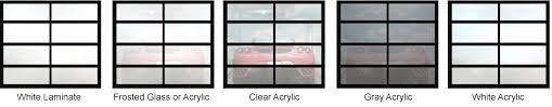 modern metal garage door. Aluminum/Glass, Avante Collection Modern Metal Garage Door O