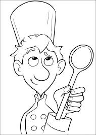 39 Chef Coloring Page Chef Worksheet Educationcom Radiokothacom