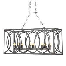 modern rectangular chandeliers