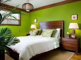 Wonderful 39 Bright Tropical Bedroom Designs : 39 Bright Tropical Bedroom  Designs With White Green Brown