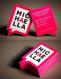 A Collection Of Attention-Grabbing Neon Business Cards. Creative ...