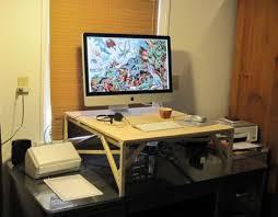 diy standing desk conversion. Unique Desk DIY Platforms To Diy Standing Desk Conversion K