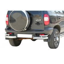 <b>Защита заднего бампера</b> для Chevrolet Niva для авто купить по ...