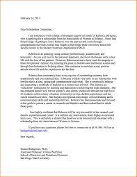 re mendation letter for student scholarship sample re mendation letter for student scholarship 3