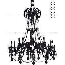 chandelier wall sticker todosobreelamorinfo