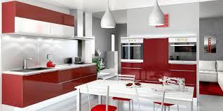 Cuisine Moderne Blanc Et Rouge Cuisines You Modèle Lacanau