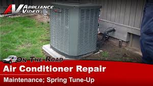 central air conditioner service maintenance spring tune clean