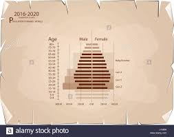 Age Generation Chart Population And Demography Population Pyramids Chart Or Age