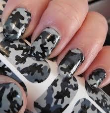 Camouflage Nail Polish Design The Home Design : Fancy Camo Nail ...