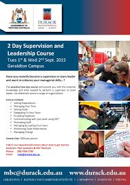 2 day course supervision and leadership 2 day supervisor course flyer