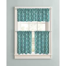 Better Homes And Gardens Test Kitchen Blue And Green Kitchen Curtains Decorating Rodanluo