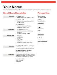 Biodata Form Template Philippines My College Scout