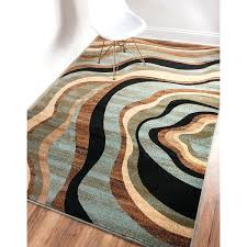 red and tan area rugs one of a kind hand knotted wool black