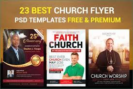 Free Church Flyer Templates Photoshop