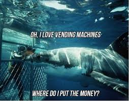 Vending Machine Jokes Gorgeous Shark Vending Machine