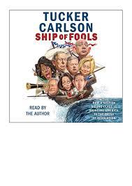 Pdf Fools Ship - Tucker Carlson Of