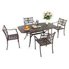 Metal Garden Furniture Advantages You Have To Buy Aluminium Patio Furniture Because It Lasts So Long Without Any Up Keep