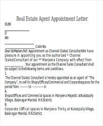 appointment of agent form 9 agent appointment letter templates free samples examples