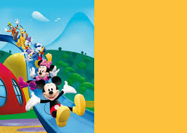 how to make mickey mouse clubhouse digital invitation step by step mickey mouse clubhouse 1st template middot mickey mouse clubhouse 2nd template coloured side