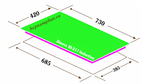 Bếp Từ Binova BI-217-Induction – Bếp Nam Phát