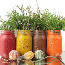 Fall Table Decorations With Mason Jars Shop Fall Mason Jar Decorations On Wanelo 42