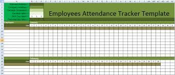 Attendance Tracker Spreadsheet Daily Employee Attendance Tracking Spreadsheet In Excel